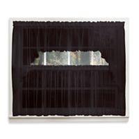 Emelia 14-Inch Sheer Window Valance in Black