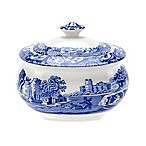 Spode® Blue Italian Covered Sugar Bowl