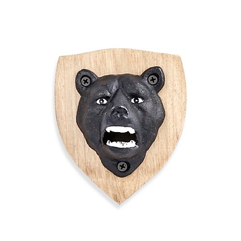 kikkerland design magnetic bear bottle opener bed bath beyond. Black Bedroom Furniture Sets. Home Design Ideas