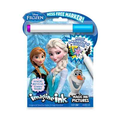 Disney® Frozen Imagine Ink Magic Ink with Marker Activity Book