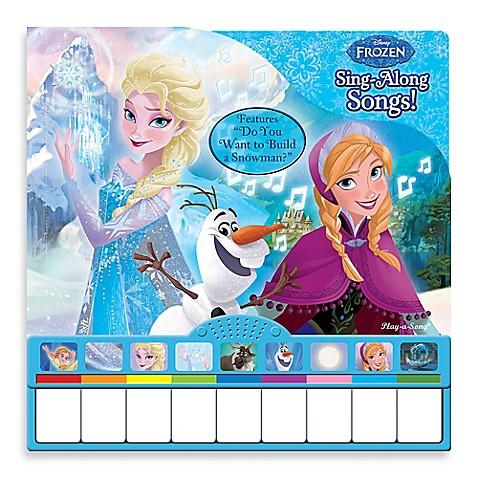 Disney 174 Quot Frozen Quot Sing Along Piano Book Buybuy Baby