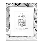 Lawrence Frames 8-Inch x 10-Inch Silver Pillow Picture Frame