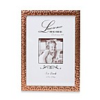 Lawrence Frames 5-Inch x 7-Inch Rose Gold Shimmer Picture Frame