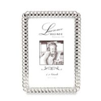 Lawrence Frames Eternity Rings 4-Inch x 6-Inch Silver-Plated Picture Frame