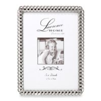 Lawrence Frames Eternity Rings 5-Inch x 7-Inch Silver-Plated Picture Frame