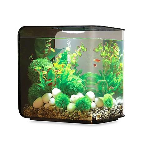 buy biorb flow 30 liter aquarium in black from bed bath. Black Bedroom Furniture Sets. Home Design Ideas