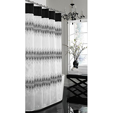 Giselle 72 Inch X 72 Inch Fabric Shower Curtain Bed Bath