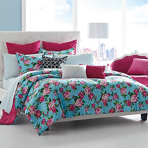 betsey johnson® boudoir comforter set - bed bath & beyond