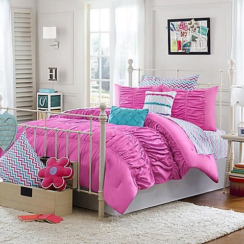 Julissa Comforter Set In Pink Bed Bath Amp Beyond