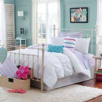 Julissa Full/Queen 3-Piece Comforter Set in White