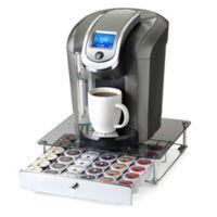 Nifty™ Keurig® K-cup® 36-Capacity Glass-Top Rolling Drawer