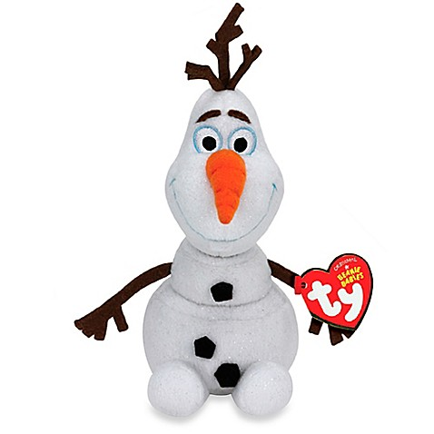 Disney 174 Frozen Small Olaf Plush Doll By Ty Bed Bath Amp Beyond