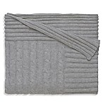 Elegant Baby® Classic Cable Blanket in Grey