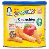Gerber® Graduates® Lil' Crunchies® 1.48 oz. Apple and Sweet Potato Baked Corn Snack