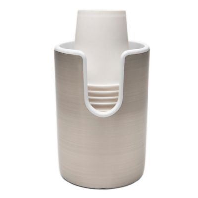 buy bath cup dispenser from bed bath  beyond,