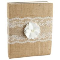 Ivy Lane Design™ Rustic Garden Memory Book in Ivory