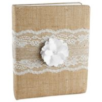 Ivy Lane Design™ Rustic Garden Memory Book in White