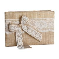 Ivy Lane Design Country Romance Guest Book in White