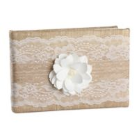 Ivy Lane Design™ Rustic Garden Guest Book in Ivory