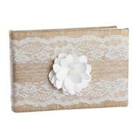 Ivy Lane Design™ Rustic Garden Guest Book in White