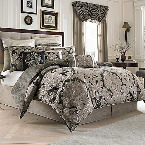 Croscill 174 Augusta Reversible Comforter Set Bed Bath Amp Beyond