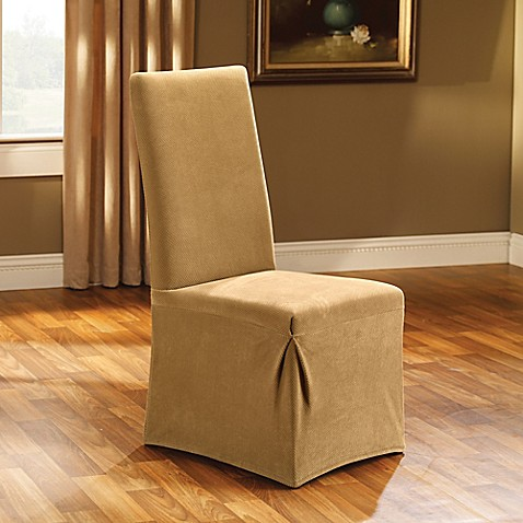 Sure fitr stretch pique dining room chair slipcover www for Sure fit stretch slipcovers clearance