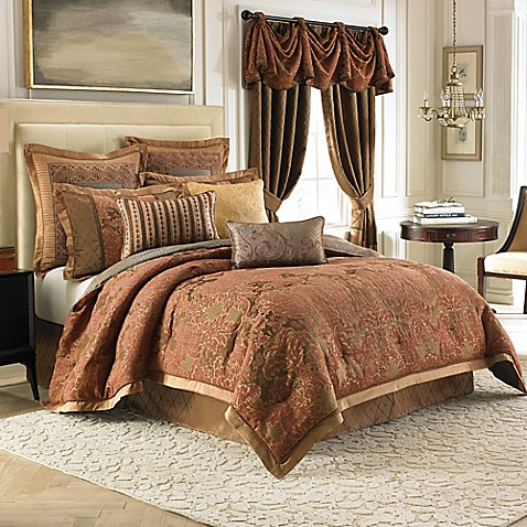 jcpenney king size bedding croscill 174 couture palazzo reversible comforter set bed 15671