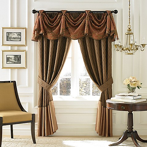 Croscill 174 Couture Palazzo Window Curtain Panel And Valance