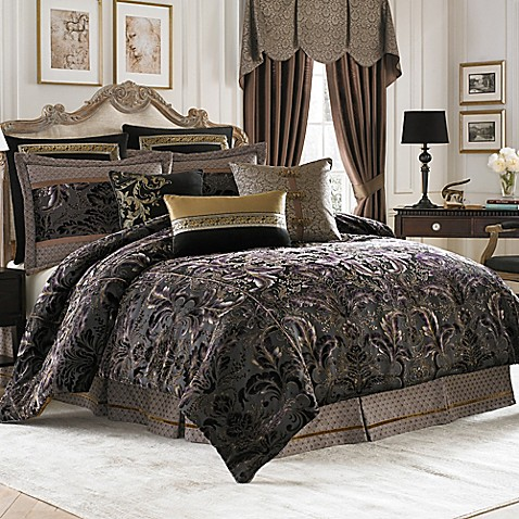 Croscill 174 Couture Selena Reversible Comforter Set Bed