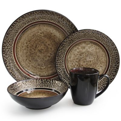 American Atelier Markham Square 16-Piece Dinnerware Set  sc 1 st  Bed Bath \u0026 Beyond & Buy American Atelier Dinnerware Sets from Bed Bath \u0026 Beyond
