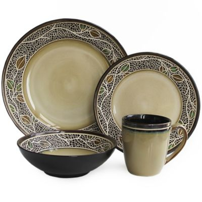 American Atelier Cordoba 16-Piece Dinnerware Set  sc 1 st  Bed Bath u0026 Beyond & Buy American Atelier Dinnerware from Bed Bath u0026 Beyond