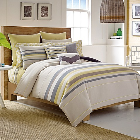 Nautica Shelford Duvet Cover Set In Khaki Bed Bath Beyond