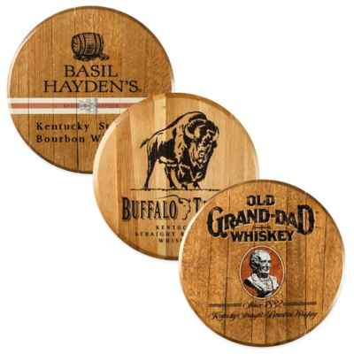 Kentucky Bourbon Barrel Head Wall Décor Collection