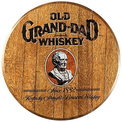 Old Grand-Dad Bourbon Barrel Head Wall Décor - Bed Bath & Beyond