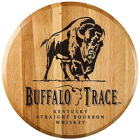 Buffalo Trace Bourbon Barrel Head Wall Décor - Bed Bath & Beyond
