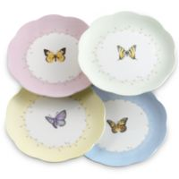 Lenox® Butterfly Meadow® 8-Inch Dessert Plates (Set of 4)