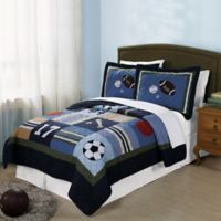 All State Twin Quilt Set