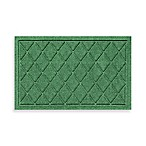 Weather Guard™ 18-Inch x 28-Inch Argyle Door Mat in Light Green