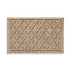 Weather Guard™ 18-Inch x 28-Inch Argyle Door Mat in Camel