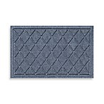 Weather Guard™ 18-Inch x 28-Inch Argyle Door Mat in Blue Stone
