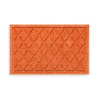 Weather Guard™ 18-Inch x 28-Inch Argyle Door Mat in Orange
