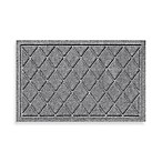 Weather Guard™ 18-Inch x 28-Inch Argyle Door Mat in Medium Grey