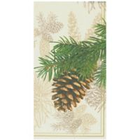 Fir Cone 16-Count Paper Guest Towels