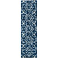 Kaleen Evolution 2-Foot 3-Inch x 8-Foot EVL03 Rug in Navy