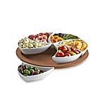 B. Smith Lazy Susan Swirl Server