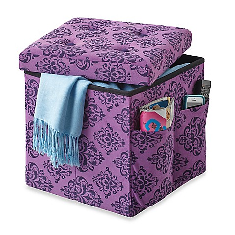 Superieur Sit And Store Folding Storage Ottoman