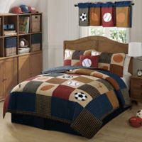 Classic Sports Full/Queen Quilt Set