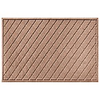 Weather Guard™ 30-Inch x 45-Inch Argyle Door Mat in Medium Brown