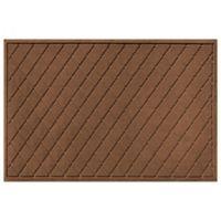 Weather Guard™ 30-Inch x 45-Inch Argyle Door Mat in Dark Brown
