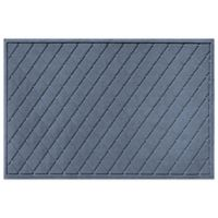 Weather Guard™ 30-Inch x 45-Inch Argyle Door Mat in Blue Stone